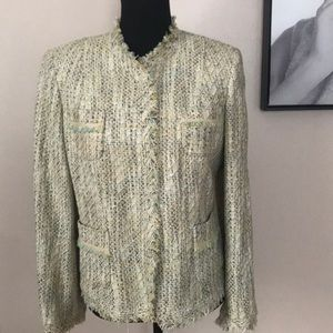 Talbots Collection Petites Green Blazer